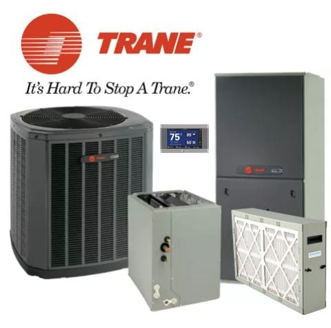Trane 3 ton XR 16 Seer System Complete Install Included - Green Leaf Air