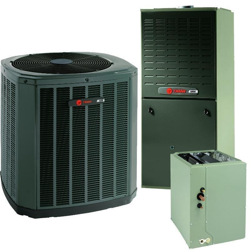 Trane 5 Ton 20 Seer V S 80 Gas Communicating System Includes