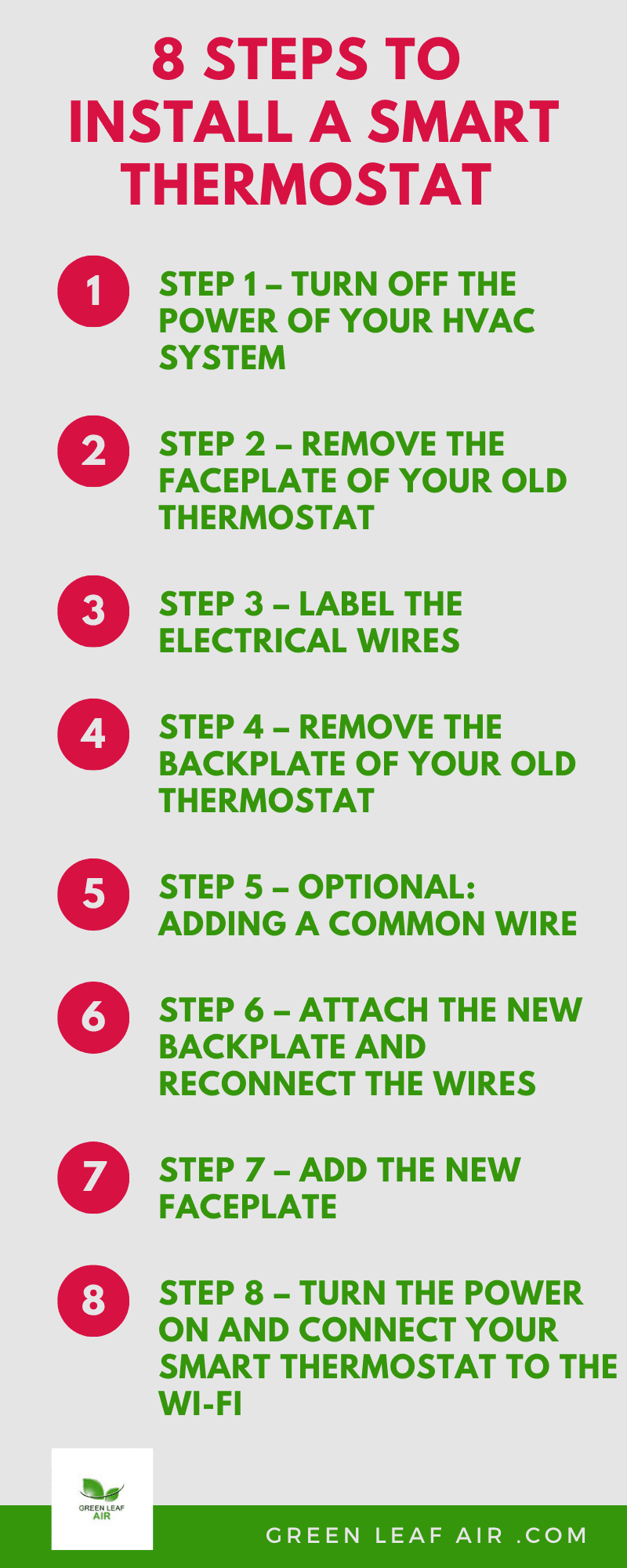 8 Steps To Install A Smart Thermostat