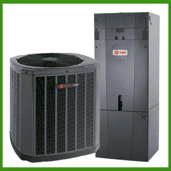 Trane Heat Pump System - 4TWV & Hyperion TAM9