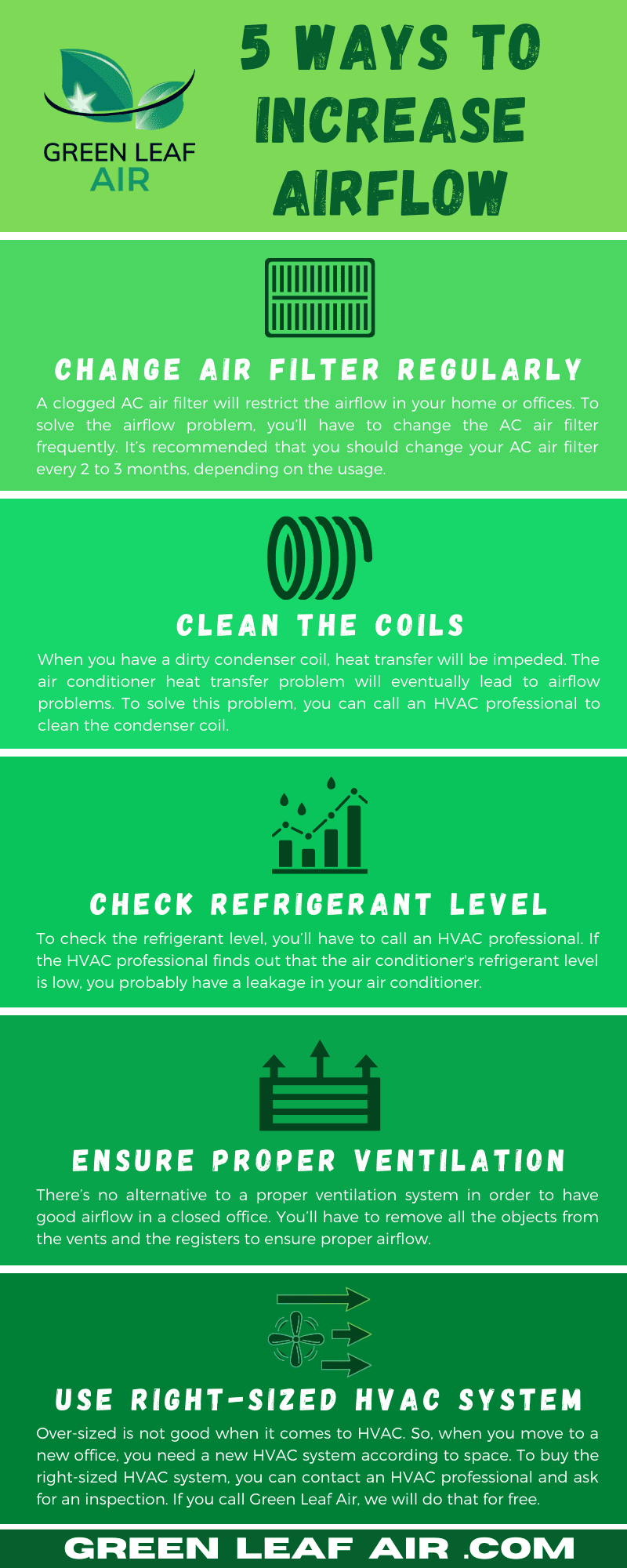 5 Ways to Increase Airflow [Infographic]