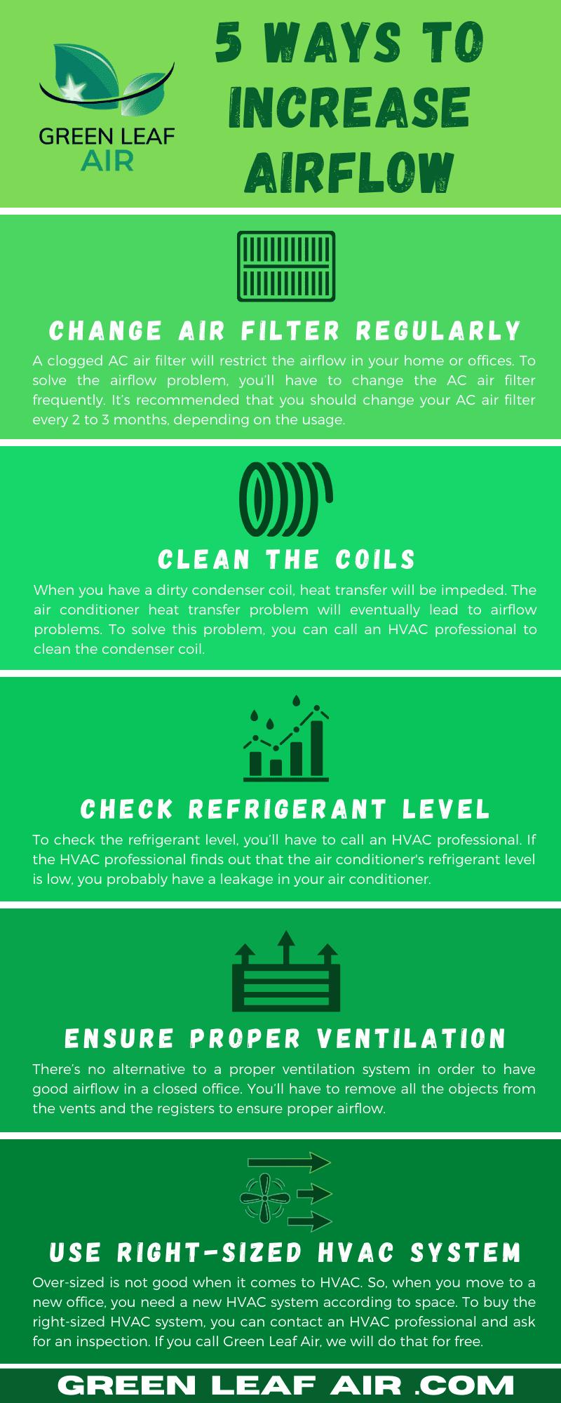 5 Ways to Increase Airflow