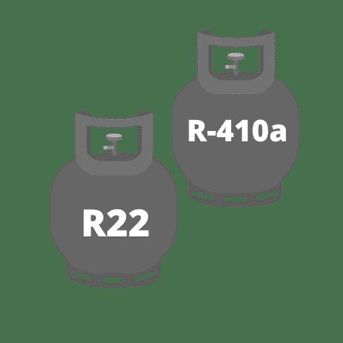 Freon R22 & R-410a