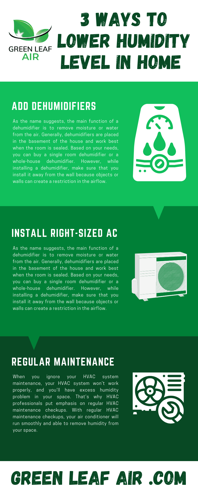 3 Ways to Lower Humidity Level In Home [Infographic]